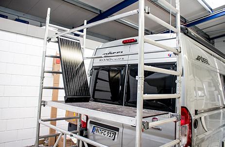 zubeh r und erweiterungen f r wohnmobile oder wohnwagen. Black Bedroom Furniture Sets. Home Design Ideas